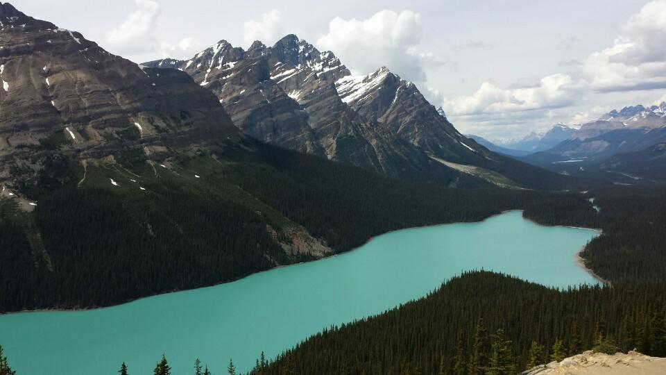 캐나다의 예쁜 강
