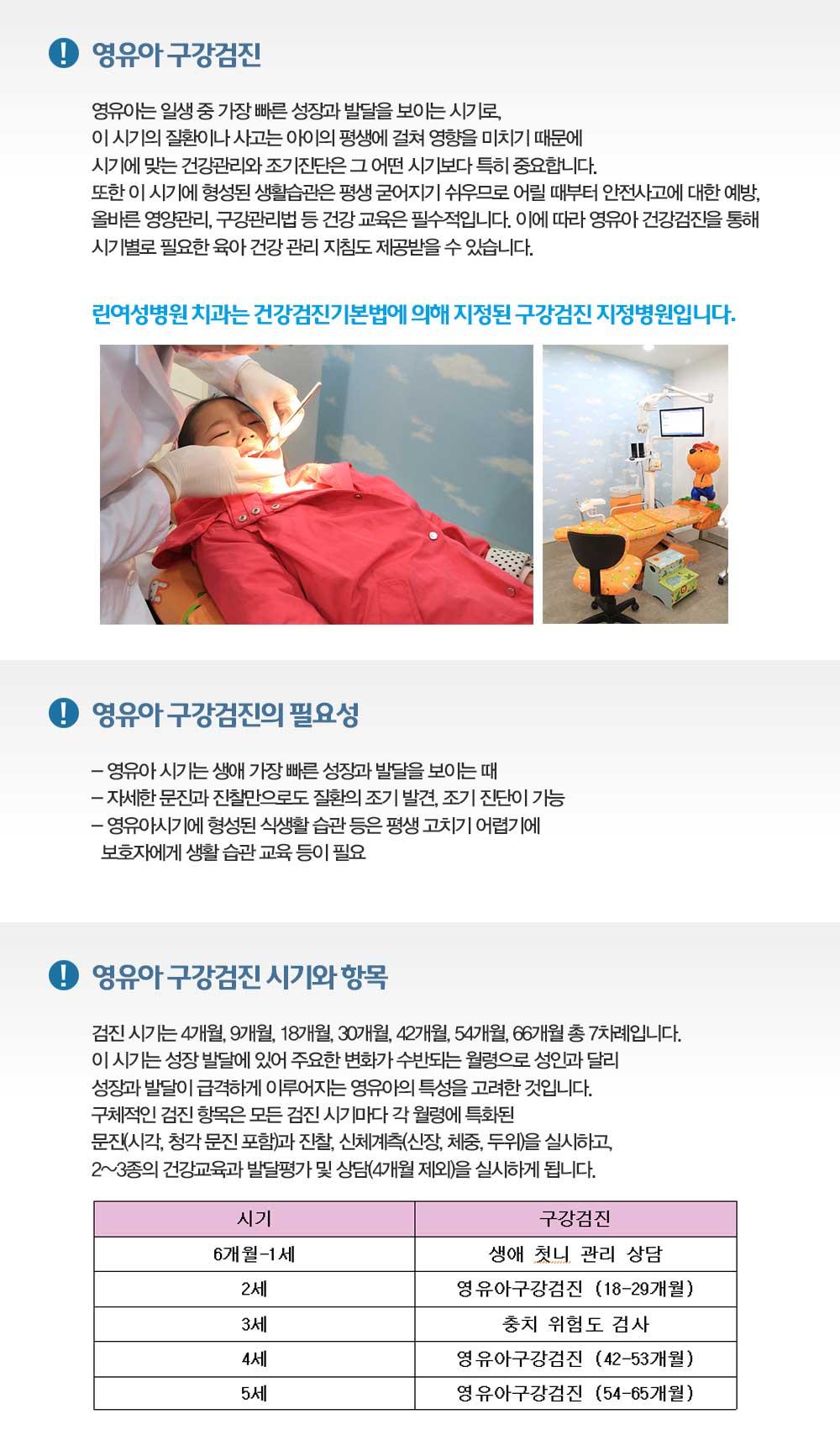영유아구강검진