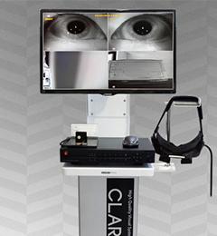 안구 운동 영상 검사 기기