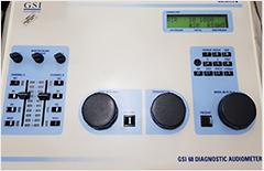 GSI 68 diagnostic audiometer