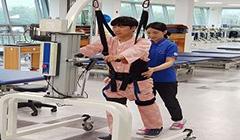 전동식 환자 리프트 보행훈련